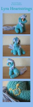 Knitted Plushies - Lyra by haselwoelfchen