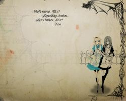 McGee's Alice and Alice by Flight-of-DragonFly
