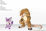 Digimonified: 019, 020 by Shoyu-Rai