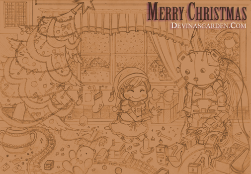 Merry Christmas 2011 by L-Ange-Noir
