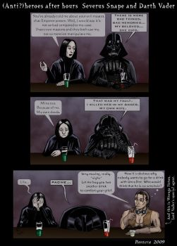 Snape and Vader .comic by The-Black-Panther