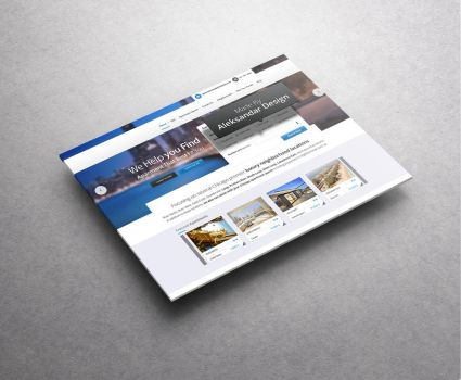 Travel Booking Web Design Freebie PSD Included by vasiligfx