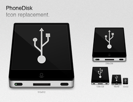 PhoneDisk Icon Replacement by macftw