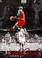 Michael Jordan by wilthethrill