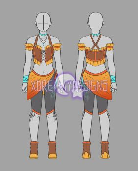 Clothing Adopt Auction: Female Outfit 20 (CLOSED) by xDreamyDesigns