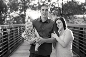 Family Session || Black and White || by Whattheneff