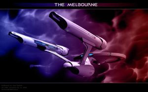 Federation Starship Melbourne2 by Joran-Belar
