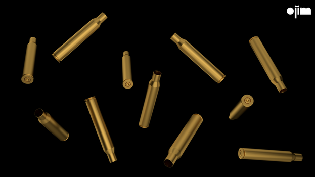 Shell Casings Falling by ojim-Designs