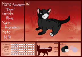 DoW|Smokepaw|Stoneclan by TheArtNarwhal