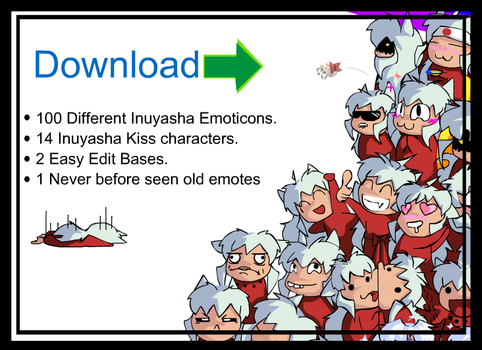 Inu Emoticon Full Collection Download by o0OInuyashaO0o