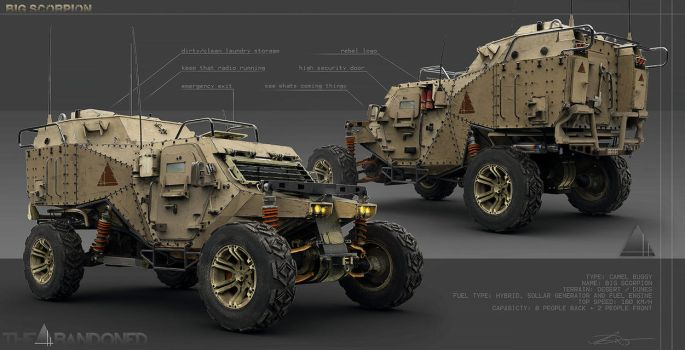 Military Buggy V2 by Scoobylt