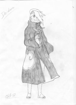 Deidara: The awesome combatant by Scarecrow606