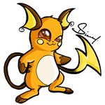 Raichu by Diamondza