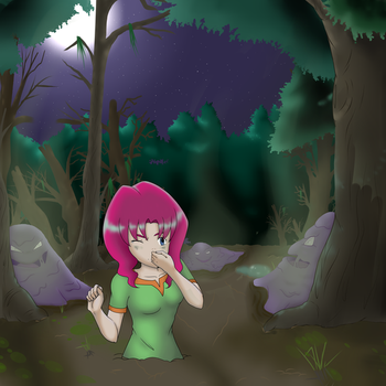 Lily in the swamp by No-Face-girl