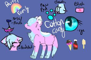 Cottons Ref by T3doesart