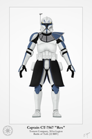 Captain Rex - Phase I by Artifician