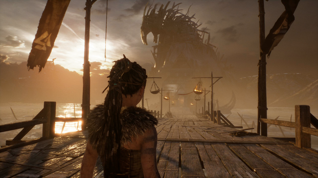 hellblade senua's sacrifice Path to Hell Hym by DarkRosePassions
