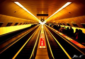 Moscow square subway station by peter-n