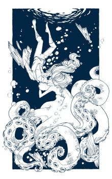 Octopus Ink by RachelCurtis
