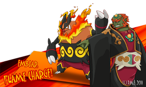 Emboar, Flame Charge