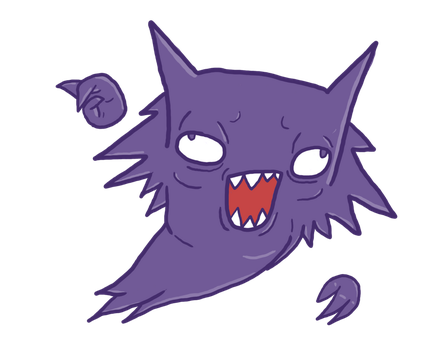 Haunter Haunting the Herp by SpaceWaffleDelivery