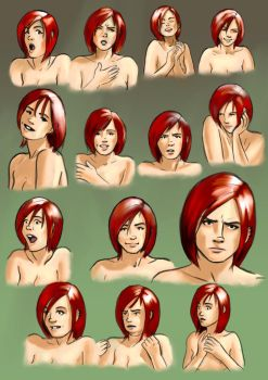 Jaine Shafford Expressions by Garrenh