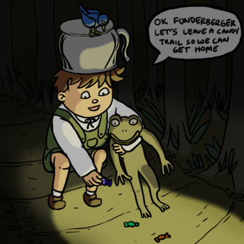 Over The Garden Wall Fan Art by LineDetail