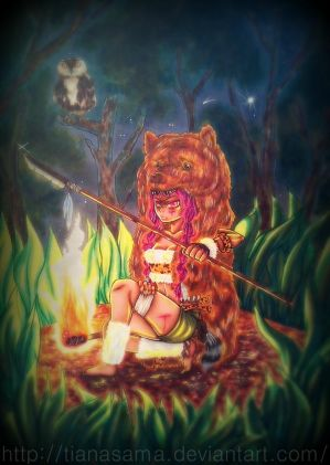 Challenge with Kathe-cat : Wild Girl by TianaSama
