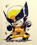 Chibi: Wolverine by bernce
