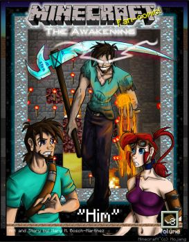 Minecraft: The Awakening Ch3 Cover by TomBoy-Comics
