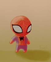 Spidey - Soft Colors by Threshie