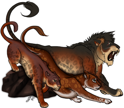 Lioden: Anthelion's Pride by Inkyblot