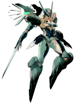 Zone of the Enders - Jehuty by flash-gavo