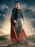 Justice League: Superman by GOXIII