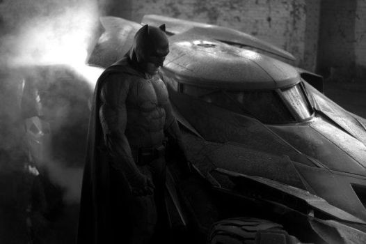 Zack Snyder's 2016 Batman and Batmobile - Full pic by cloudmoji