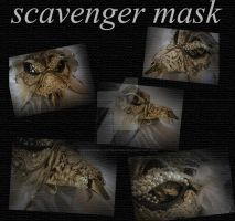 Scavenger Mask by LavenderIllustration
