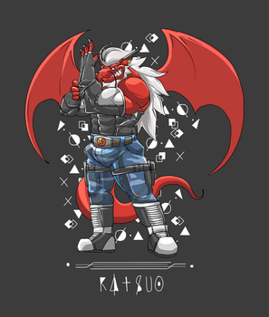 Katsuo in Black by OutLeaf