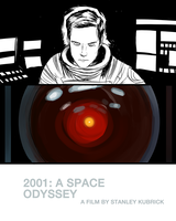 2001: A Space Odyssey by RobCham