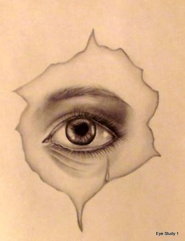 Teary Eye by Deefraz16