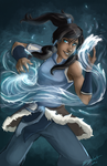 Legend of Korra by ElizaLento