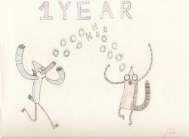 One Year by regularshow96