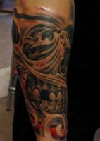 Bio Skull By Victor Portugal by VictorPortugal