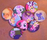 Poni Pins by sparklepeep