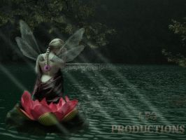 Fairy of the lake by LFGProductions