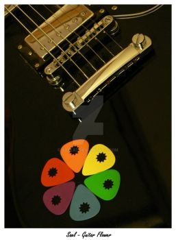 Guitar Flower by Sael87