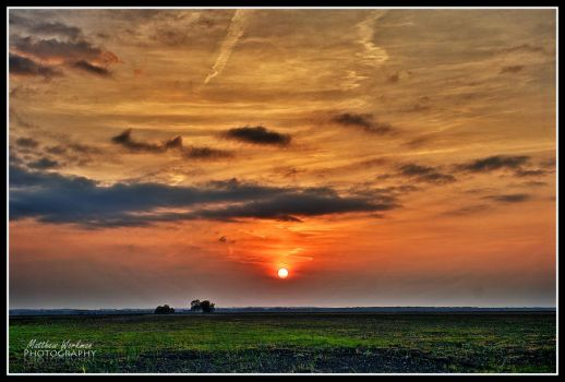 Sunset Over the Plains by Matman311