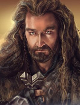 Thorin Oakenshield by Rociell