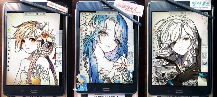 Samsung All Sketches by kawacy