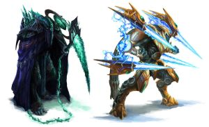 Protoss Campaign Concepts by Phill-Art