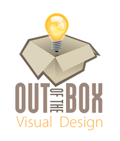 Out of the Box Visual Design Logo by JohnRose-Illustrator